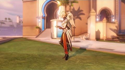Overwatch Mercy emote - No Pulse