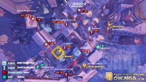 Volskaya Industries overhead map