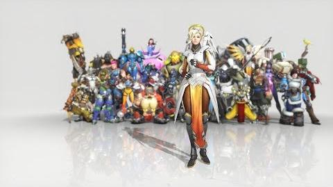 Overwatch - Anniversary Mercy emote - Hustle