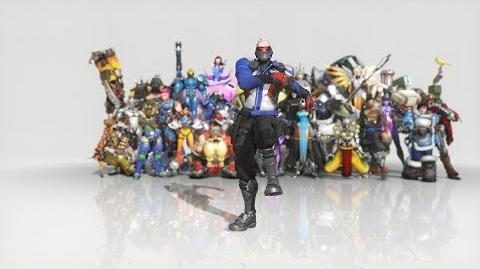 Overwatch - Anniversary Soldier 76 emote - Dance