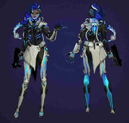 Sombra - Cyberspace skin concept