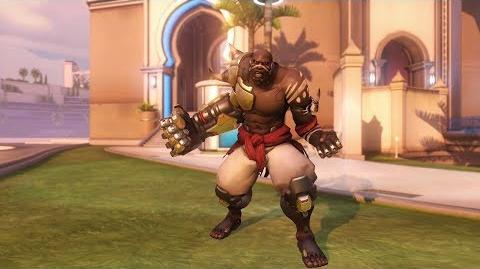 Overwatch Doomfist emote - Ready for Battle