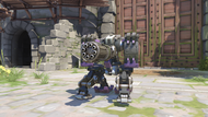 Bastion tombstone sentry
