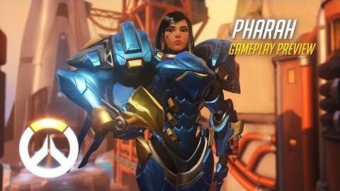 Overwatch Pharah Gameplay Preview 1080p HD, 60 FPS