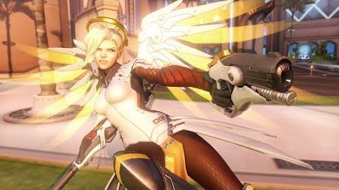 Overwatch Mercy highlight intro - Battle Angel