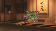 Genji malachite shuriken