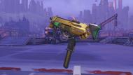 Sombra peppermint golden machinepistol
