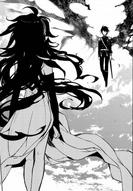 Asuramaru confronting Yu