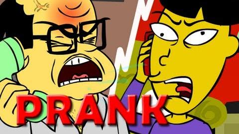 Angry Asian Restaurant Prank Call (ANIMATED) - Ownage Pranks