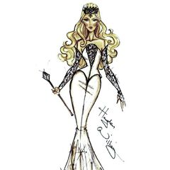 Oz the Great and Powerful concept art for Glinda.
