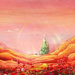 Poppy Field and Emerald City