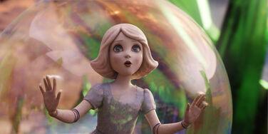 China girl bubble