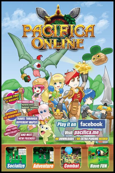 Pacifica Online poster