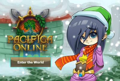 Pacifica Online - Login Screen - Christmas 2013 Bandit