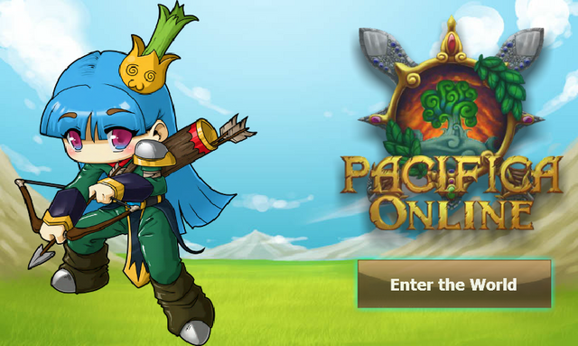 File:Pacifica Online - Login Screen - Archer.png