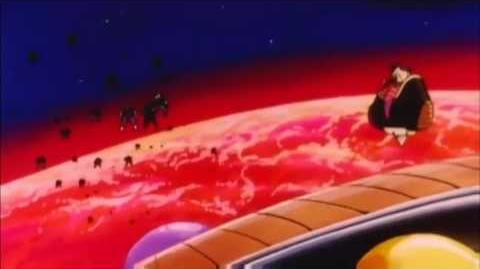 Frieza Destroys Planet Vegeta