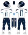Titans white uniform