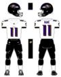 Ravens white uniform