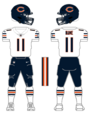 Bears white uniform