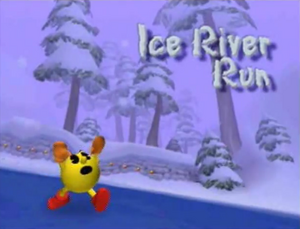 Ice River Run Title Screen