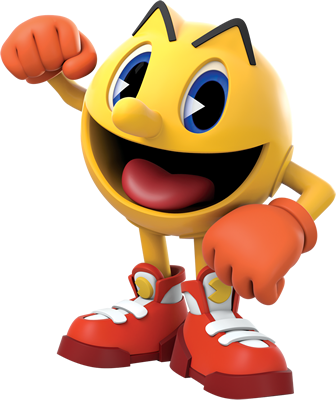 File:Pac-Man character art - The Adventure Begins.png