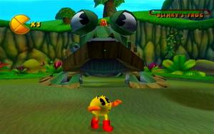 Battling Blinky's Frog