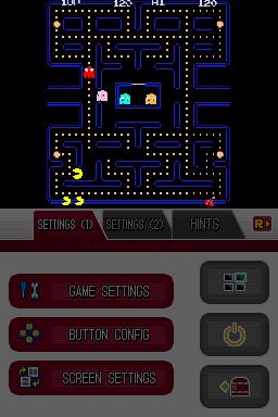 File:Namco Museum DS - Pac-Man (horizontal aspect ratio, sharp) (DeSmuME 0.9.11).png