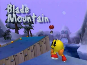 Blade Mountain Title Screen