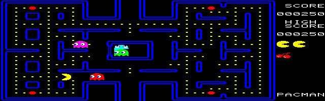 File:Pac-Man (FM-7) (MAME 0.180).png