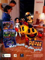 Pac Man Fever video game print ad NickMag Nov 2002