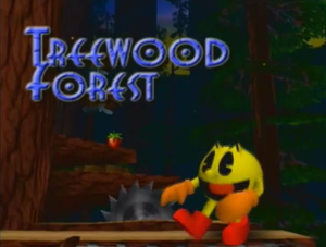Treewood Forest Title Screen
