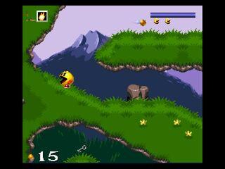Pac-In-Time screenshot level 1