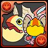 No.1606  イャンクック&クックネコ(怪鳥&怪鳥貓)