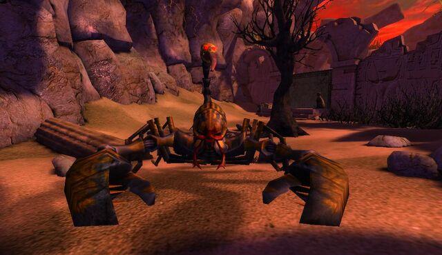 File:Giant Scorpion in Desert.jpg