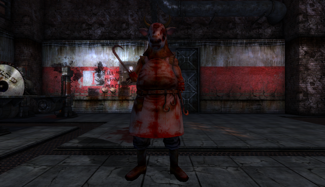 File:Butcher with Cow Head in Animal Farm.png