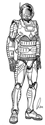 NE-BA-20 (Stalker) Partial Body Armor