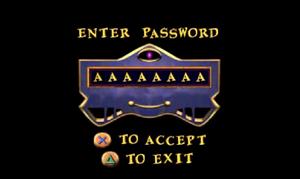 Pandemonium password screen