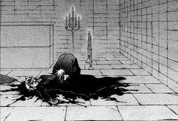 Leo crying over elliot