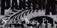 Suicide Note, Pt. 1
