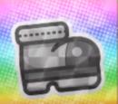 Megaflash Iron Jump Sticker