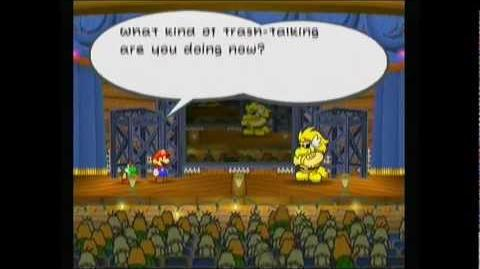 "OJaronimo Paper Mario The Thousand-Year Door - Chapter 3 ""X""?"