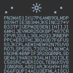 The cipher.