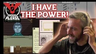 Papers Please Gameplay How to play Papers, Please game (Basics Tutorial) AND HAVE THE POWER!