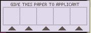 Fingerprint paper