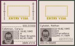 Cykelek passports