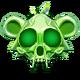Crystal Monkey Skull