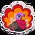 Sticker turkey