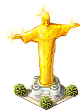 Easter Decoration Gold Statue