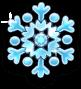Xmas snowflake large