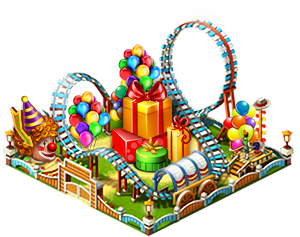 Birthday rollercoaster